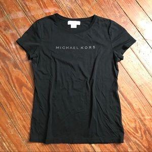 Michael Kors•black tee•M